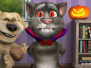 play Talking Tom Cat Halloween