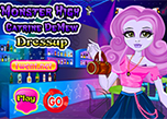 play Monster High Catrine Demew Dress