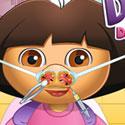 play Dora Nose Doctor