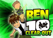 play Ben 10 Clear Out