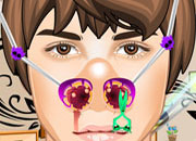 play Justin Bieber Nose Doctor