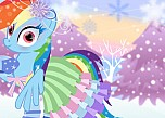 play My Little Pony Winter Dressup