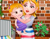 play Baby Hazel Leg Injury