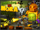 play Nora Vs Zombies