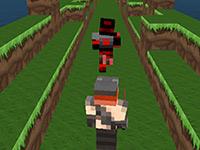 play Minecraft: Mine Runner