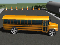 3D School Bus Parking