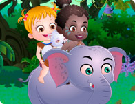 play Baby Hazel African Safari