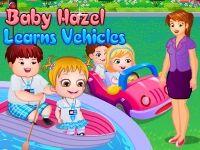 play Baby Hazel Learns Vehicles