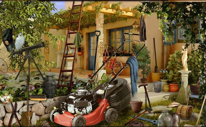 Play Neighbors Broken Lawn Mower Game
