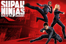 play Supah Ninjas: Hero Of The Shadows