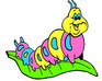 play Funny Caterpillar Coloring