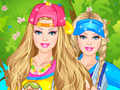 play Barbie Park Ride Dress Up