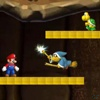 Mario Underground Invaders game