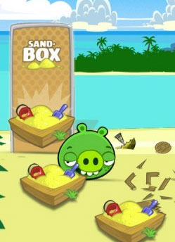 play Bad Piggies Hd 3.8 Sand Box