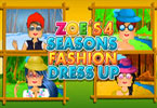 play Zoes 4 Seasons Fashion Dress Up