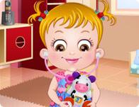 play Baby Hazel Doctor Play