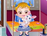 play Baby Hazel Pet Party