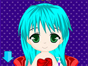 play Cute Chibi Anime Hair Salon
