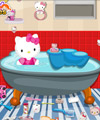 play Hello Kitty Bathroom Cleaning