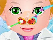 play Baby Juliet Nose Doctor