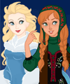 play Snow Queen Scene Maker