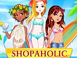 play Shopaholic Beach Models