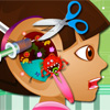 play Dora Ear Doctor