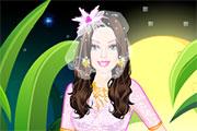 play Barbie Fairytale Bride Dress Up