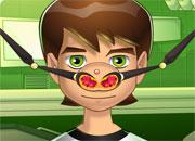 play Ben 10 Nose Doctor