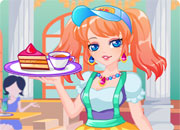 play Cupcake Shop Maid Dressup