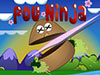 play Pou Ninja Warrior