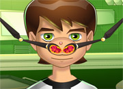 play Ben 10 Nose Problems