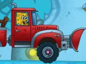 play Spongebob'S Snow Plow