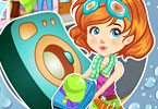 play Clumsy Mechanic Laundry