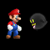 Mario Alien Invaders game