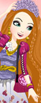 play Ever After High Holly O'Hair Dress Up