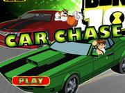 play Ben 10 Car Chase