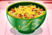 play Pepper Pasta Salad