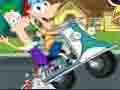 play Phineas And Ferb Crazy Motorcycle