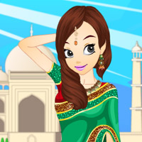 play Indian Fashion Dress Up