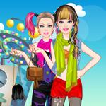play Barbie Hipster Princess Dress Up
