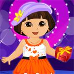 play Dora Valentine Party Dress Up