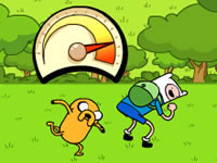 play  Adventure Time - Jumping Finn