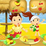 play Beach Fruity Snack