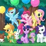 play My Little Pony Sliding Puzzle
