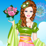 play Barbie Roman Princess Dress Up