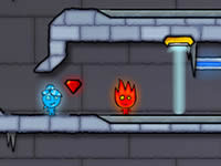 play  Fireboy And Watergirl 3 - The Ice Temple