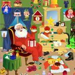 play Santa Messy Room