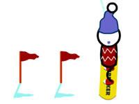 play  Snowboard Slalom Xtreme!