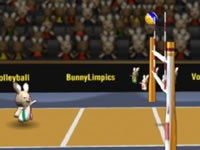 play Bunnylimpics Volleyball